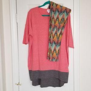 LuLaRoe Irma and Leggings outfit